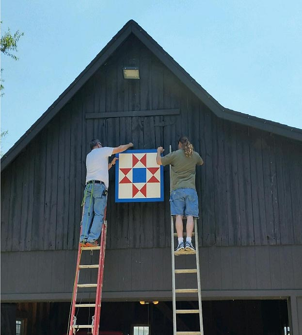 Installing a Barn Quilt
